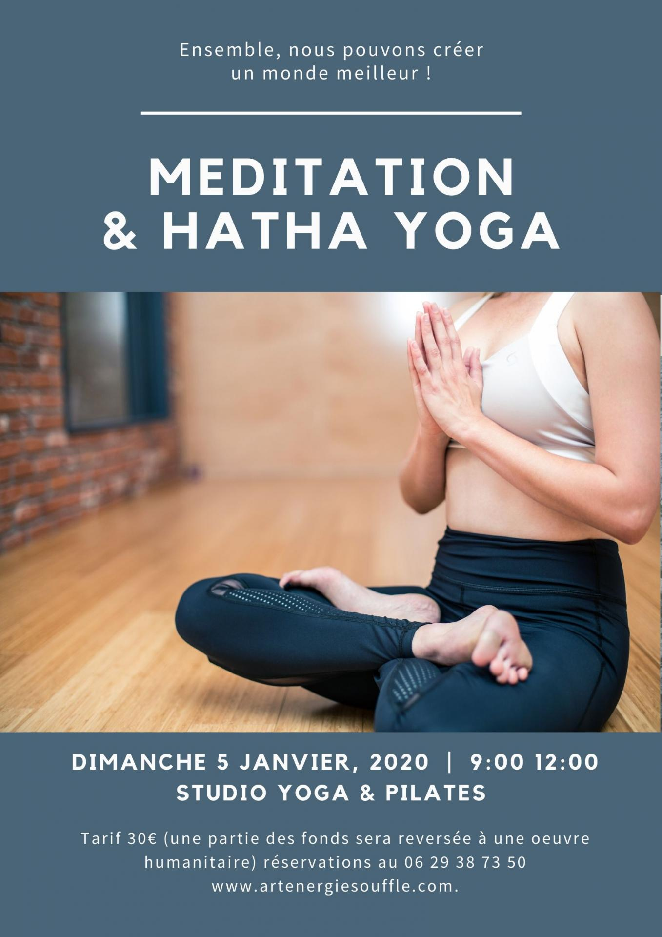 Meditation hatha yoga